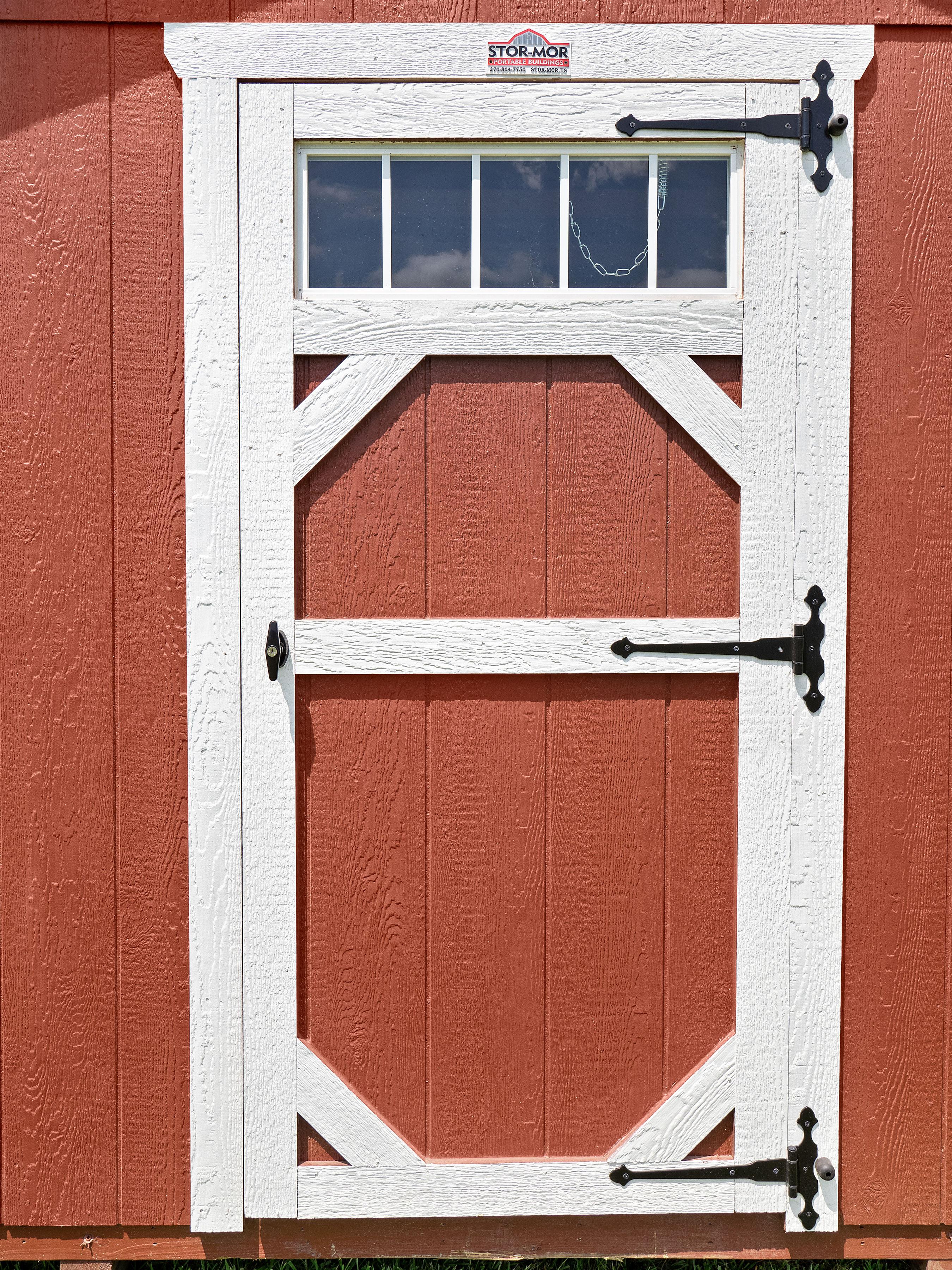 Single Transom Door